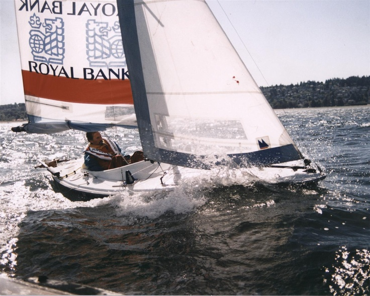 The High Quad Sailboat in action.  www.neilsquire.ca