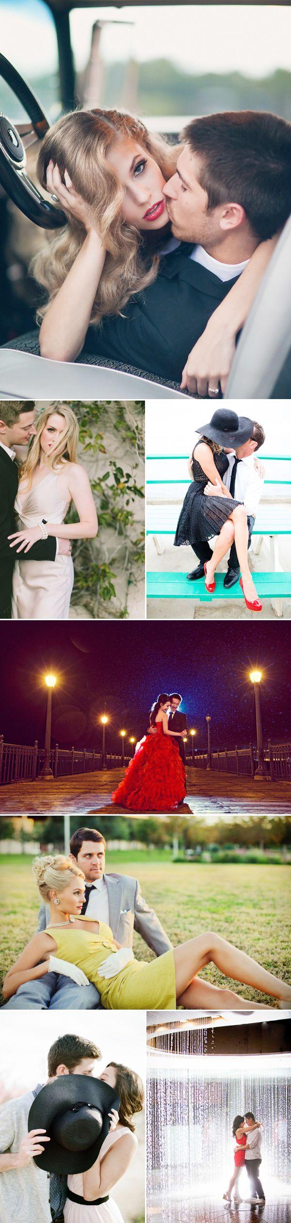 22 High Fashion Engagement Photos - Sexy & Glamorous