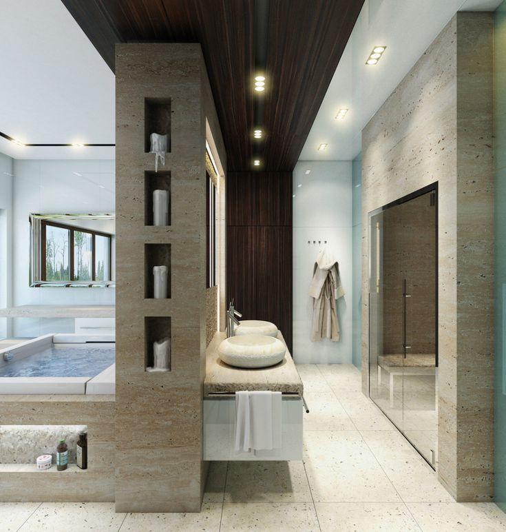 bathroom, Bathroom Vanity Cabinet Design For Modern Bathroom Design Ideas With Bathroom Ceramic Tile Floor Design With Washbasin Cabinet Design With Bathroom Mirror With Ceiling Lamp For Bathroom Ceiling Design: The Design Ideas of Bathroom Vanity Cabinet at Modern Style