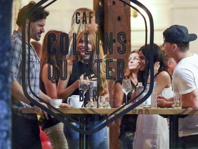 Checa las fotos de Sofía Vergara y Joe Mangianello junto a Channing Tatum y su esposa en la cita doble más sexy de la historia.