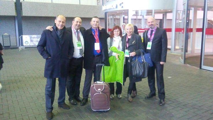 Amsterdam Winner Show, December 2015, part of judges team: from left Roberto, Rui, Tino, Jadranka, Cathy and me