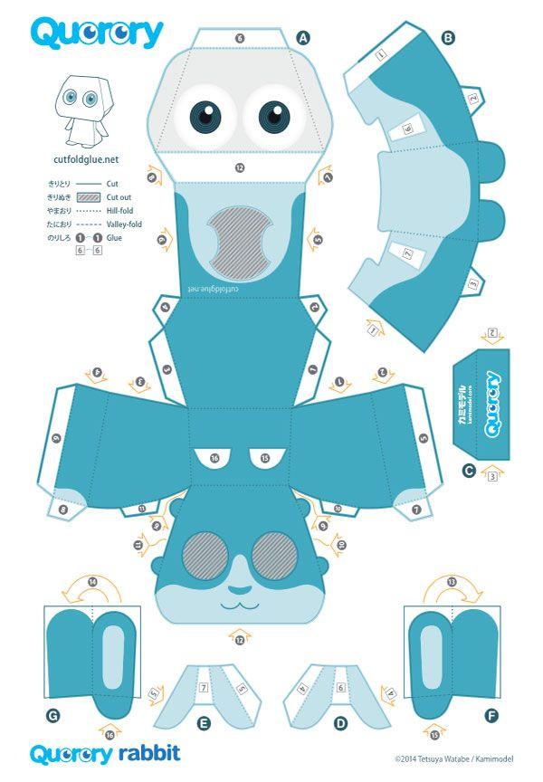 Souvent 133 best paper toys & imprimer images on Pinterest   Paper toys  OI89