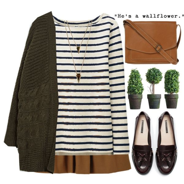 He's a wallflower by evangeline-lily on Polyvore featuring Uniqlo, Zara, Fat Face, Jules Smith, Wallflower, zara and uniqlo