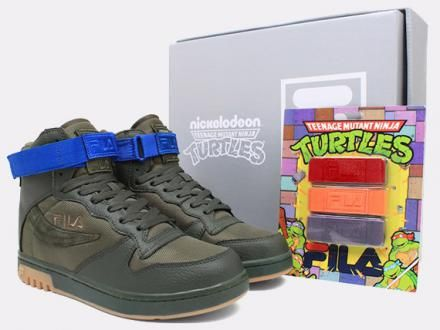 TEENAGE MUTANT NINJA TURTLES × FILA FX-100 #sneaker