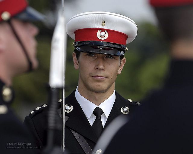 Royal Marines Officer by Defence Images, via Flickr