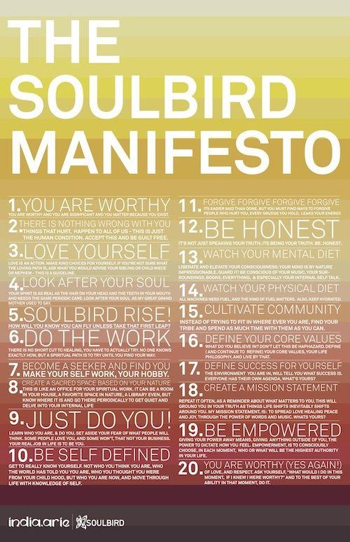 India.Arie's SoulBird Manifesto