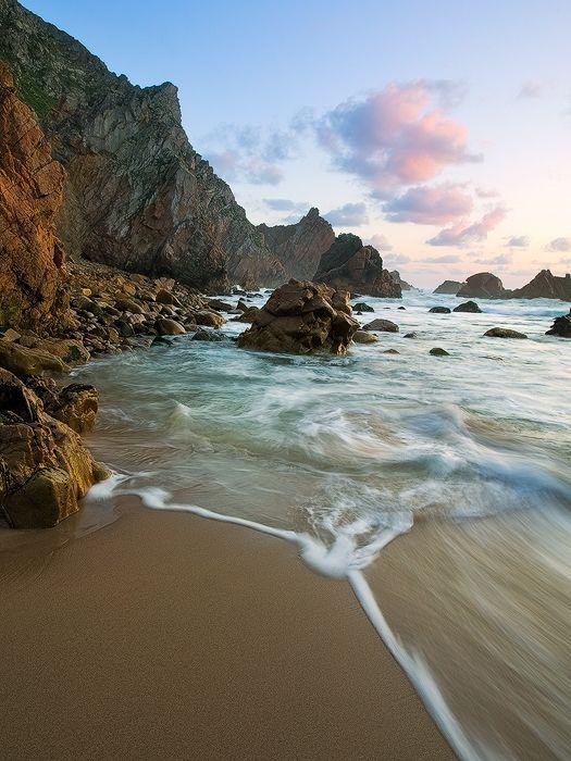 Ursa Beach, Sintra, Portugal   © copyright by Emmanuel Coupe