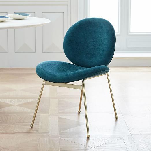 Jane Dining Chair - Velvet #westelm