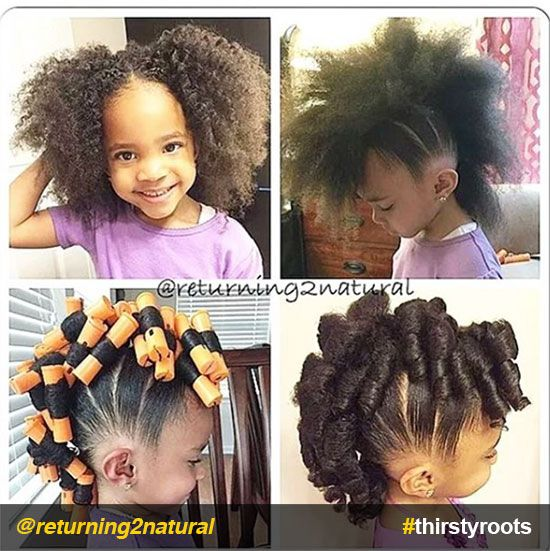 20 Cute Natural Hairstyles For Little Girls Cornrow