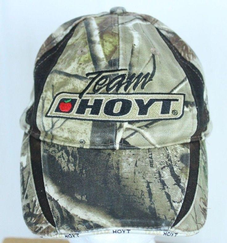 Team Hoyt Bow Hunting Camouflage Ball Cap Trucker Hat Adjustable  #Hoyt #BaseballCap