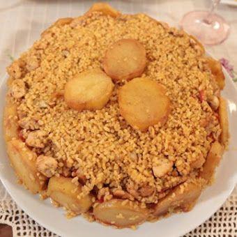 Patatesli Tavuklu Bulgur Pilavı