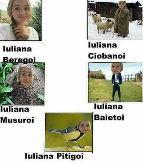 Haha Iuliana.