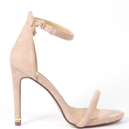 Perfect baby pink strappy high heel - handy to compliment any going out/club/night out outfit! Shop at korky's shoes - KORKYS.IE #korkys #korkysshoes #heels #highheels #style #fashion #stylishoutfit #stylish #stilettos #strappy #strappyheels #goingout #outfit #nightoutfit #dateheels #dateoutfit