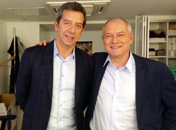Avec Michel Cymes