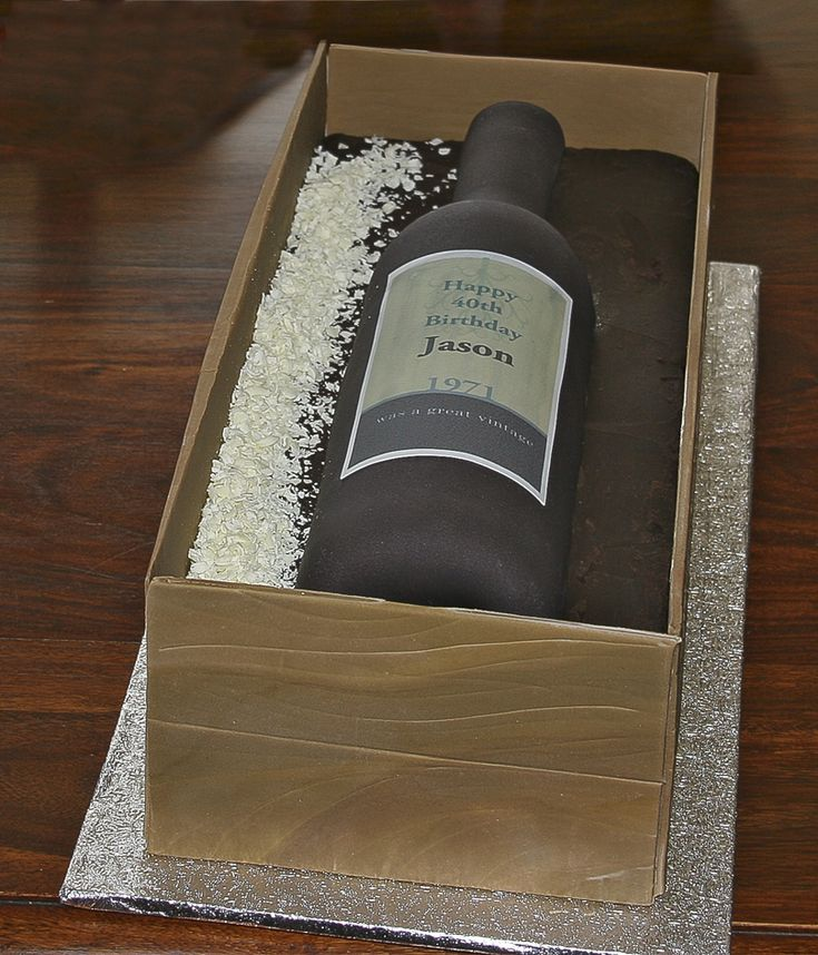 diy wine bottle in a crate came tutorial.