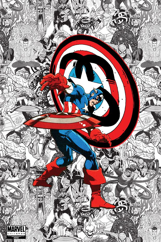 handcrafted silver rings   Marvel Comics Poster