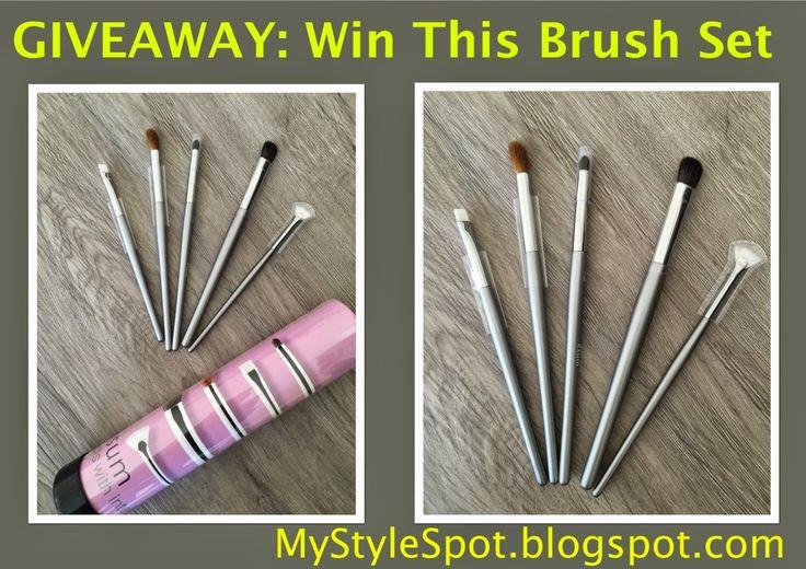 MyStyleSpot: GIVEAWAY: WIN the Ultimate Smokey Eye Brush Kit! ($150 Value!)  #contest #win #giveaway OPEN WORLDWIDE! win #Esum #smokeyeye #makeup #brush #kit #beauty #cosmetics #sweeps #mystylespot #blogger #style
