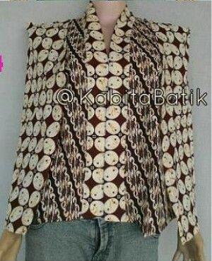 Batik cape inspiration
