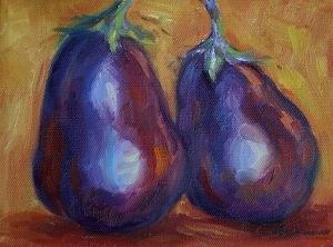 aubergines!