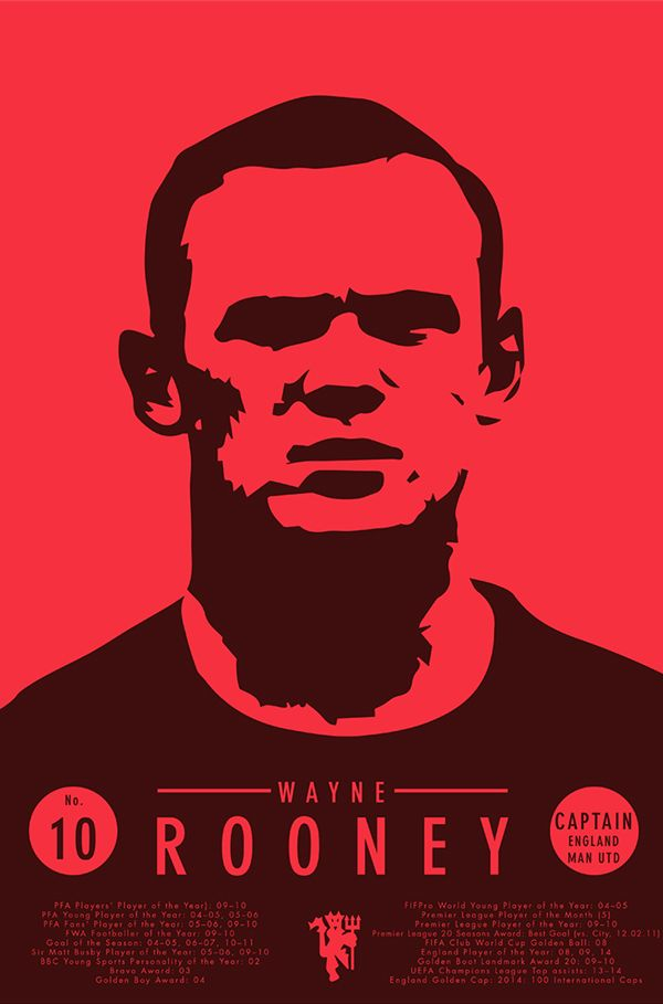 Wayne Rooney on Behance