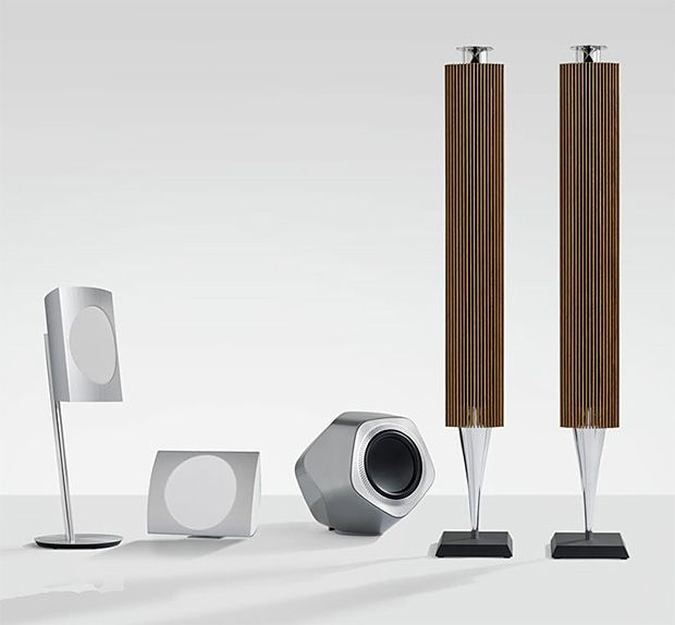 Bang & Olufsen Beolab Wireless Speakers at werd.com