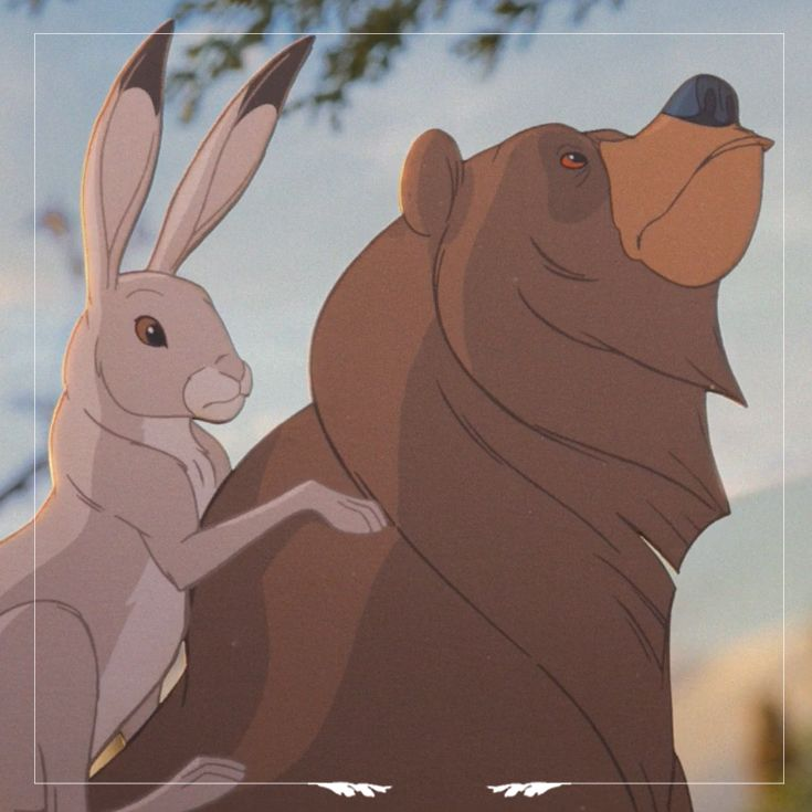 The Bear and The Hare from the John Lewis Christmas Ad #Johnlewis #christmas #adverts