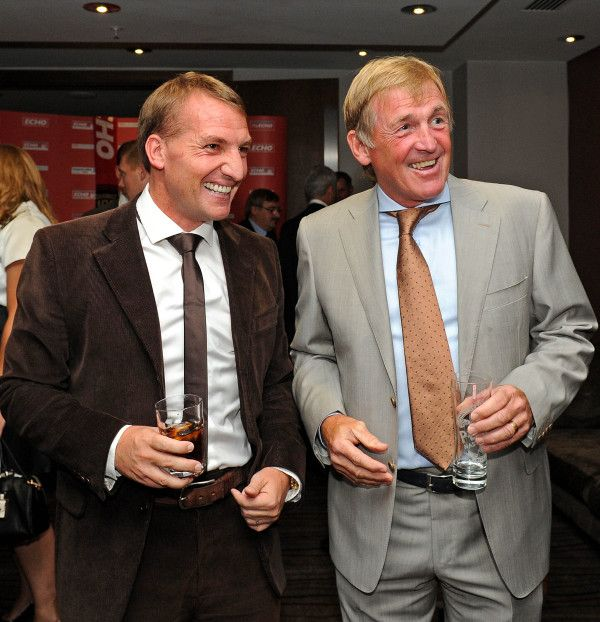 Just now Brendan Rodgers with Kenny Dalglish at Billy Shankly... on Twitpic