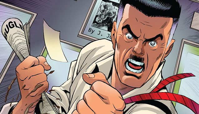 Stan Lee created J Jonah Jameson as a parody of a real-life figure who crusaded against comic books in the 1950s.