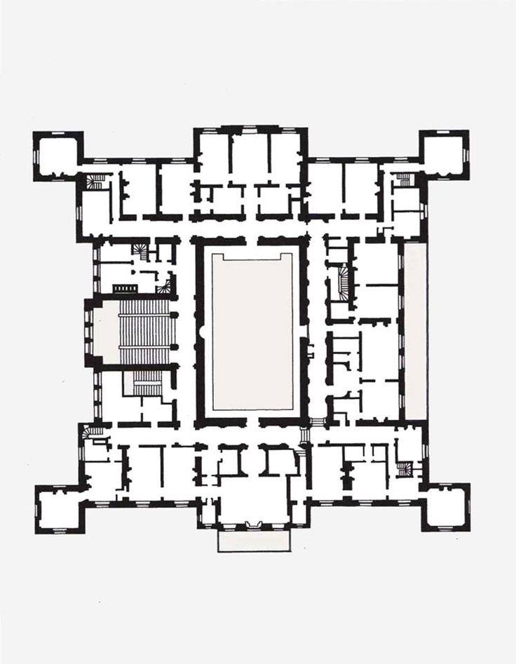 ch 226 teau de ferrieres second floor floorplan pinterest