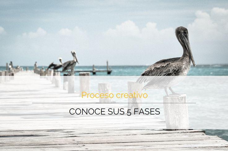 Conoce las 6 fases del proceso creativo - Comunique Studio