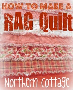 Rag Quilt - how to make a darling rag quilt