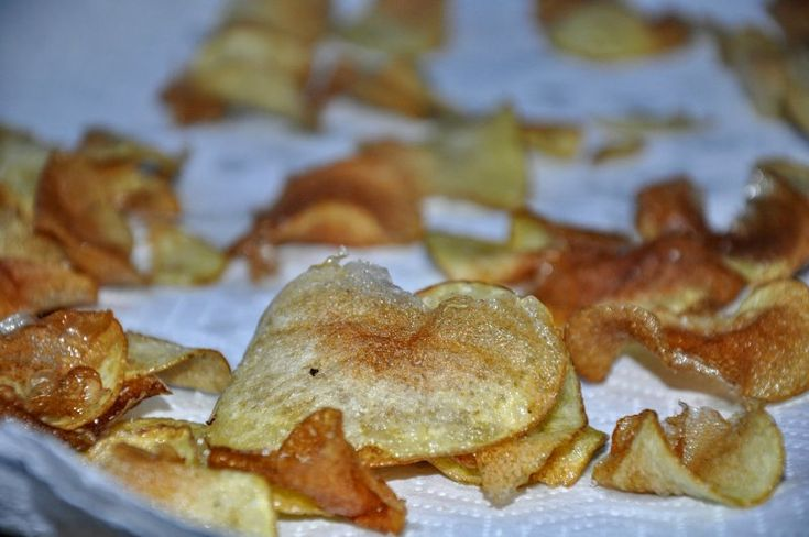 Hjemmelavede chips, Andet,Andet, velkomst, Slik, opskrift