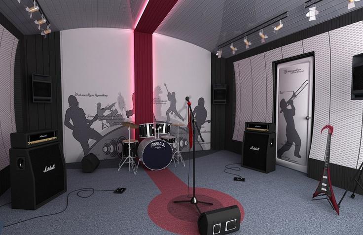 ▬СТУДИЯ ЗВУКОЗАПИСИ▬ г. Харьков - http://design2live.com.ua/interiors/projects/43