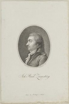 Johann Rudolf Zumsteeg (1760-1802), engraving (1799), drawn by Franz Karl Hiemer (1768-1822), engraved by Christian Friedrich Stölzel (1751-1816).