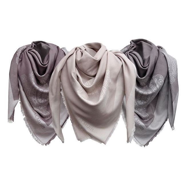 What is your favorite color? Balmuir Capri scarf is made from silk and cotton and comes in these beautiful shades. #CapriScarf #Balmuir #SquareScarf