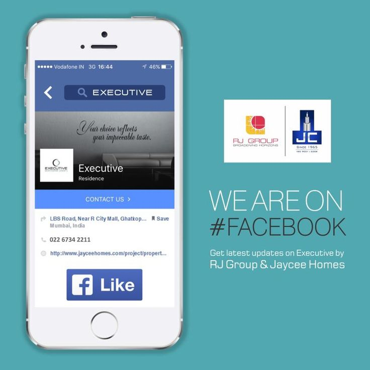 Get latest updates on #Executive @ Ghatkopar - W by RJ group and Jaycee Homes now on Facebook. Just visit & Like the page: -https://goo.gl/IblCsj