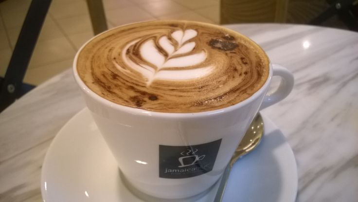 Full aroma of #Cappuccino from the first sip till the end that made my after afternoon complete. #JamaicaBlue #MidValley #GreatCoffee