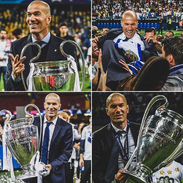 3 Years Ago Today Zinedine Zidane Was Appointed Real Madrid Manager 149 Games 104 Wins 29 Draws 16 Defeats 3 C Real Madrid Manager Real Madrid Football Memes