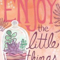 Steph Calvert/Enjoy the Little Things represented by Liz Sanders Agency