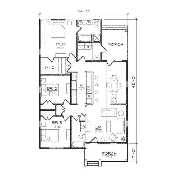Bungalow Design Floor Plans: 1000+ Ideas About Bungalow Floor Plans On Pinterest