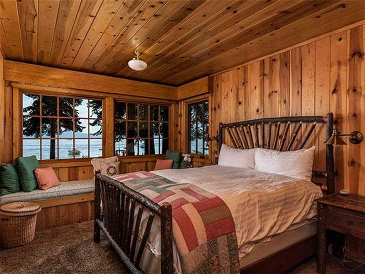 234 best images about hunting cabin ideas on pinterest for Hunting cabin bedroom