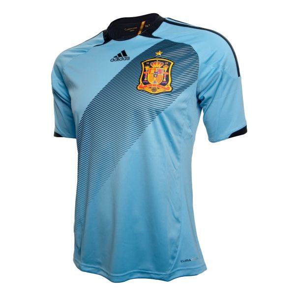Comprar camiseta azul  celeste juego eurocopa 2012 online - Competición - Tienda oficial Selección Española de Fútbol