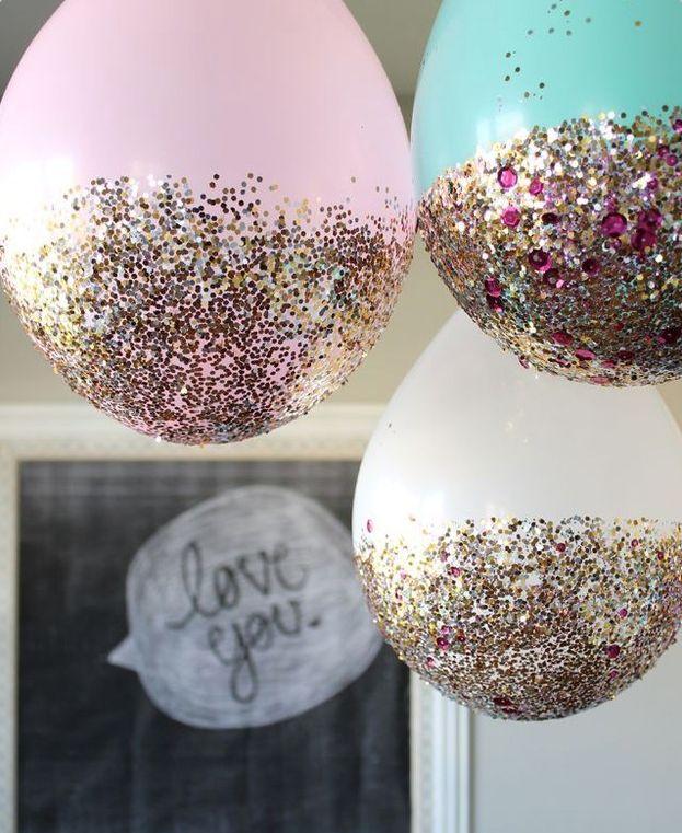 i❤ glitter balloons!
