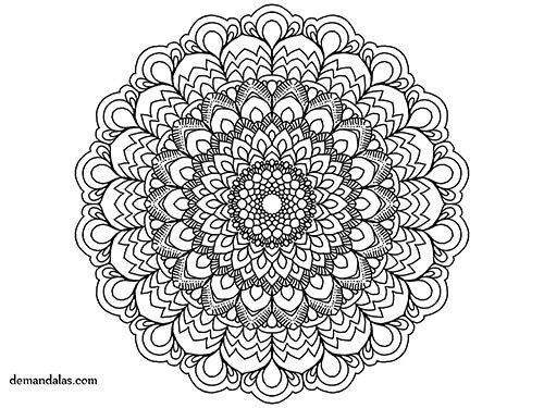 24 best Mandala para imprimir images on Pinterest  Mandalas