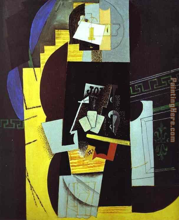 Picasso, Card Player, 1913-1914, MoMA