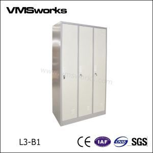 Customized Cheap Personal Digital And Key Or Coin Pesonal 3 Door Cabinet  Lockers