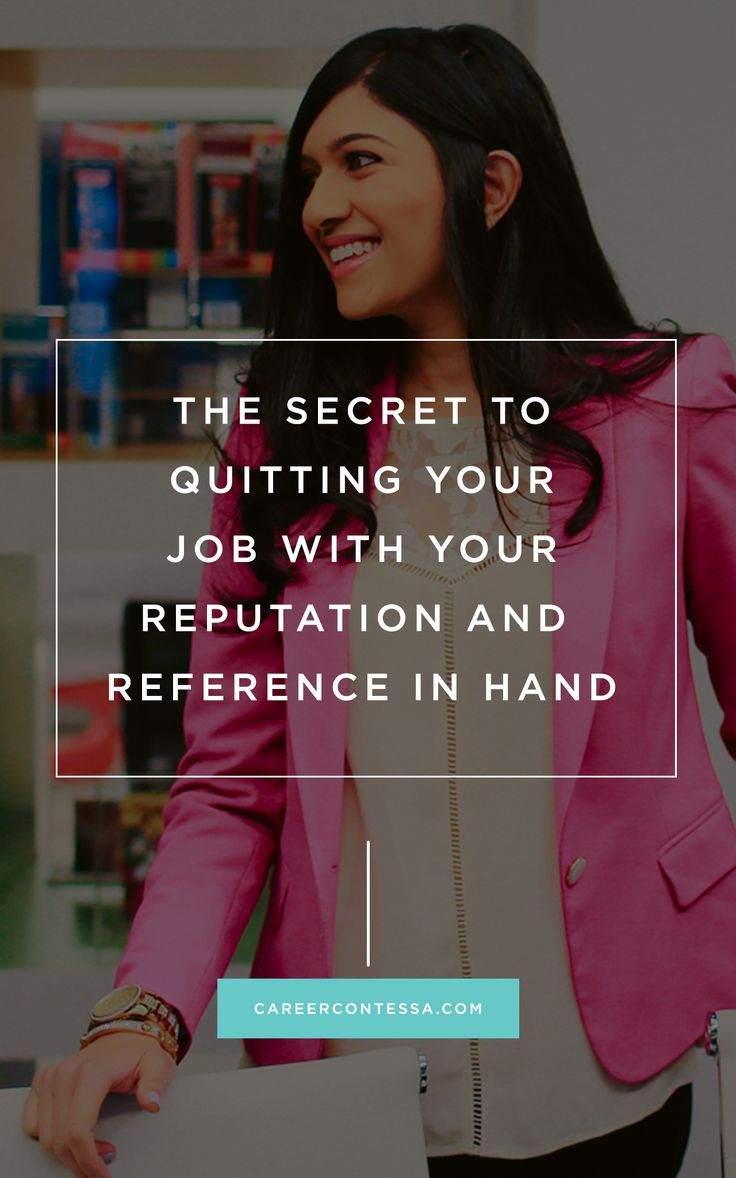 The Secret to Quitting Your Job with