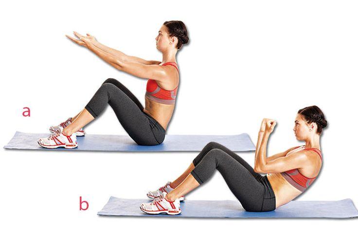 Pilates Übung: Back Arm Rowing