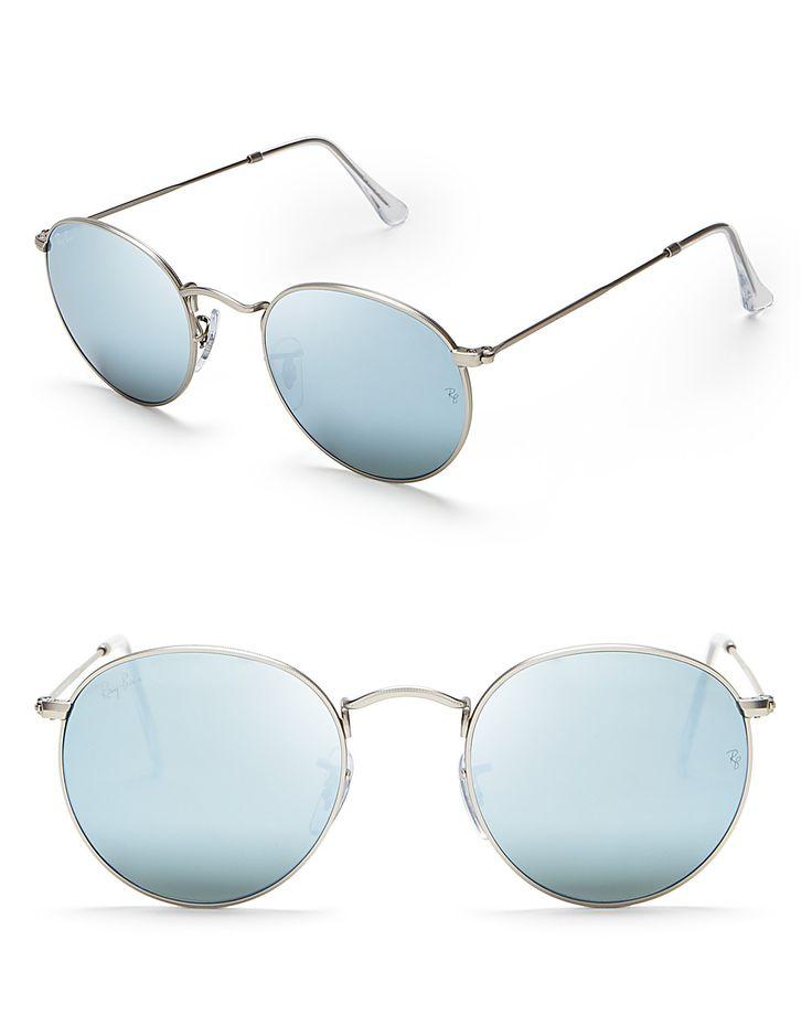 Ray-Ban Round Mirror Sunglasses