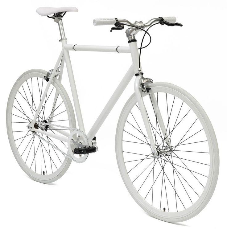 De NO NAME WHITE STREETBIKE fixed gear is een sportieve en zeer moderne fixed gear fiets voor het alledaags gebruik. Of u nou op weg bent naar het werk of naar de winkel deze NO NAME WHITE STREETBIKE fixed gear brengt u snel overal heen. De NO NAME WHITE STREETBIKE fixed gear is zeer licht en gemaakt en uitermate geschikt voor vervanging van vervoer in de stad. Al met al de single speed fiets of fixed gear fiets die bij u past. In vele kleuren beschikbaar.single speed/fixed gearspecs:maten…